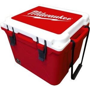 25 QT Bison Cooler - Made in USA - Decoration Available