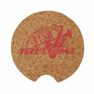 "2.5"" Cork Car Coaster"