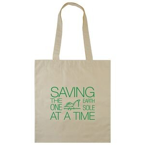 4 Oz. Biodegradable Cotton Canvas Tote Bag