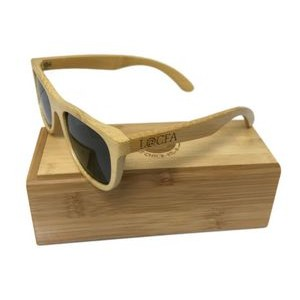 Hanalei Bamboo Sunglasses with Case