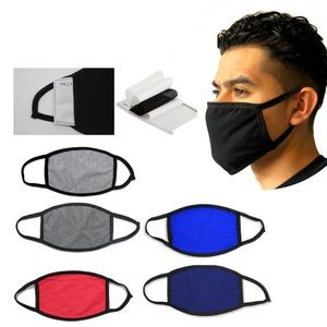 Filter Cotton Facemask